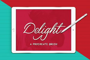 Delight | A Procreate Brush