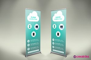 Cloud Computing Roll Up Banner