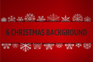 6 CHRISTMAS BACKGROUND