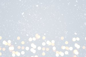 Gray festive Christmas background