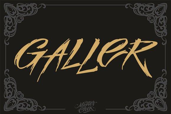 galler display