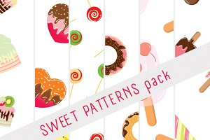 6 Sweet patterns pack