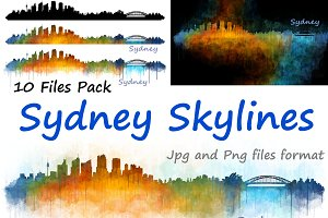 10xFiles Pack Sydney Skylines