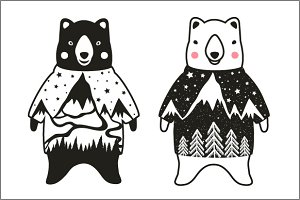 Cutie Bears in Sweaters