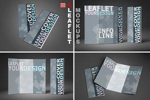 4 leaflet mockups