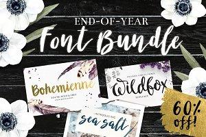 Brush Script Font Bundle