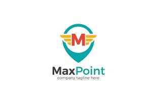 Max Point Letter M Logo