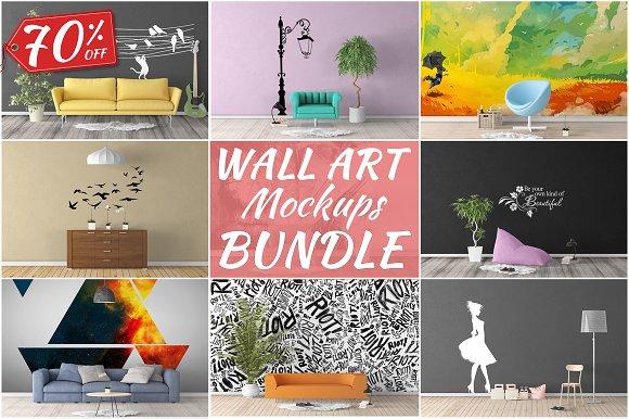 Download Wall Art Mockups BUNDLE V5