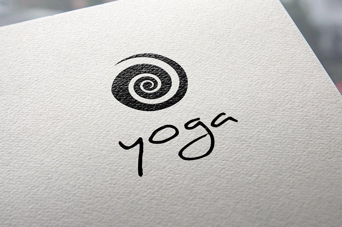 Yoga Logo Templates Creative Market