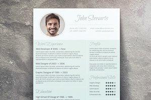 Fresh CV + Cover Letter