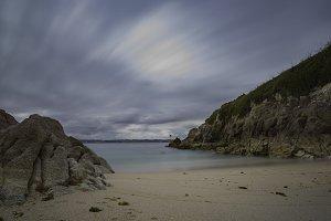 Adormideras beach (La Coruna, Spain)