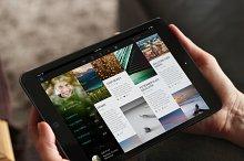 iOS Tablet Flat UI Set Vol. 1