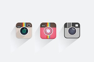 3 Mini Camera Icons