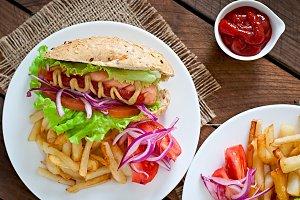 Hot Dogs - sandwich