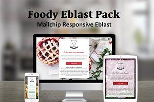 Foody Mailchimp Eblast Pack