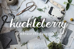 The Charming Huckleberry Font