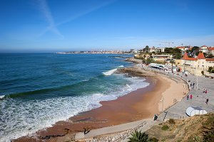 Resort Town of Estoril in Portugal