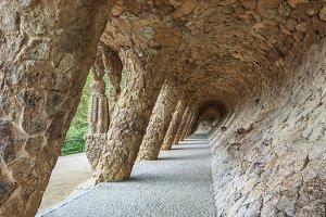 Columns of Park Guell