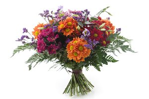 Autumnal colors bouquet