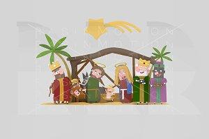 3d ilustration. Worship.