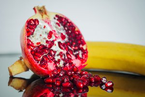 Vitamin boom - banana, pomegranate 2