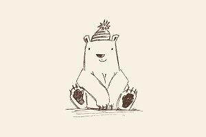 Cute Polar Bear.