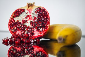 Vitamin boom - banana, pomegranate 3