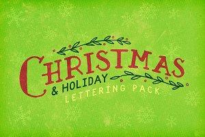 Christmas Lettering Pack