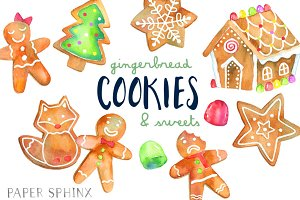 Gingerbread Cookies Holiday Pack