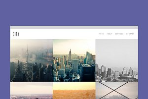 City - Minimal Portfolio