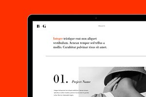 FOLIO - Adobe Muse Template