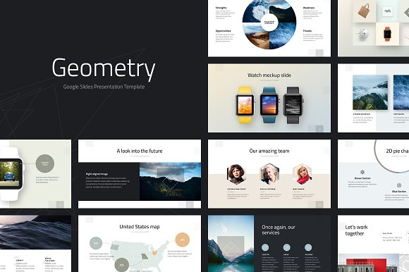30 creative google slides templates for your next presentation geometry google template fandeluxe Gallery