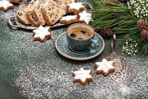 Christmas sweet food cookies