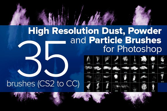Dust, Powder and Particle Brushes