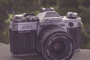 Canon AE-1 Film Camera SLR