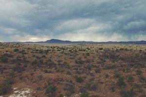 Desert Aerial 4K Scene 1