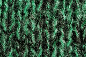 Green Knitted Background