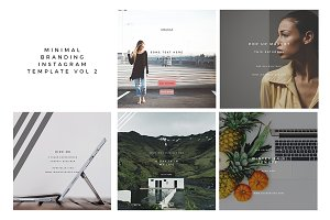 Minimal Instagram Template Vol 2