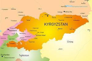 Kyrgyzstan country