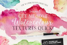 Give Me Watercolour Textures Quick!