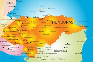 Honduras country