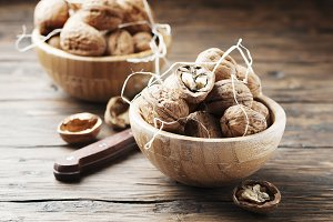 Healthy walnuts