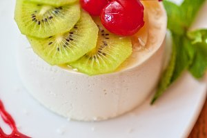 tasty fruit dessert