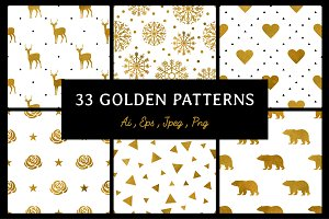 33 Golden patterns