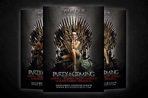 Game Of Thrones Flyer