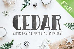 Cedar Font