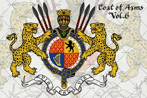 Coat of Arms of Knight.Vol. 6