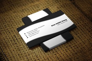 Blackin Business Card Template