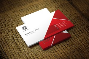 Redify Business Card Template