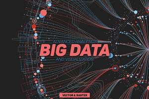 30 Big Data Abstract Backgrounds